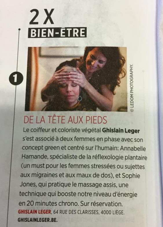 Gael Magazine, Bien-être, Fevrier 2016