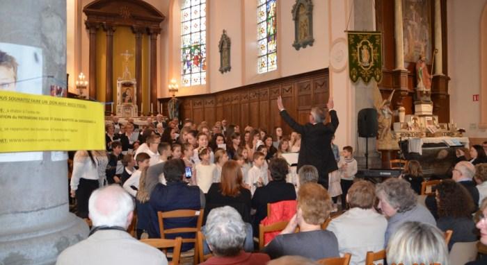 Concert au profit de la restauration de l'église de Ghissignies