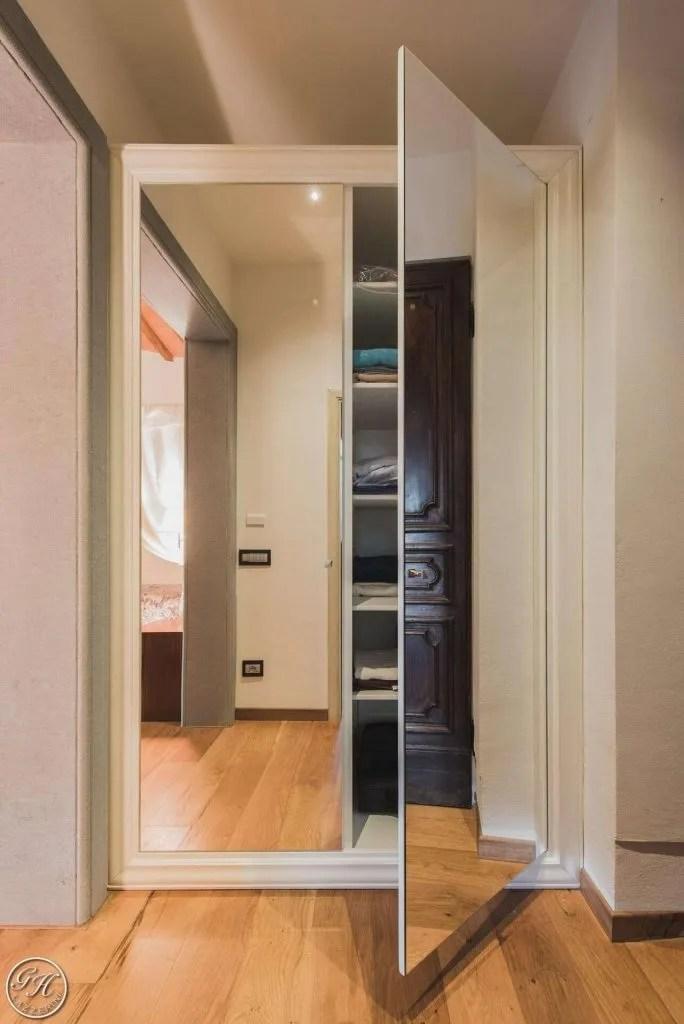 Secret doors le porte a specchio Garden House Lazzerini