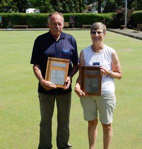 2016 Novice Champions Mike Connorton and Nancy Stuart