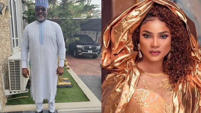 There is leaked audio on the internet which is related to the Nigerian actress, Iyabo Ojo,