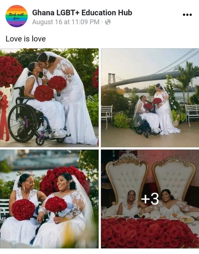 Ghanaian Woman Marries her lesbian partner