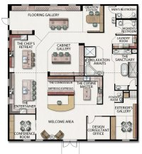 Design Studio Floorplan