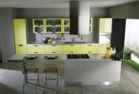 Cool Piramide Yellow Kitchen Design - Interior Design Ideas