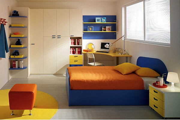 Simple Full Color Kids Room Design Ideas  Interior Design