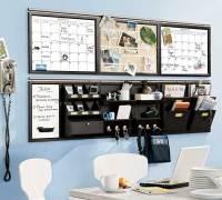 Home Office Wall Storage Design - Interior Design Ideas