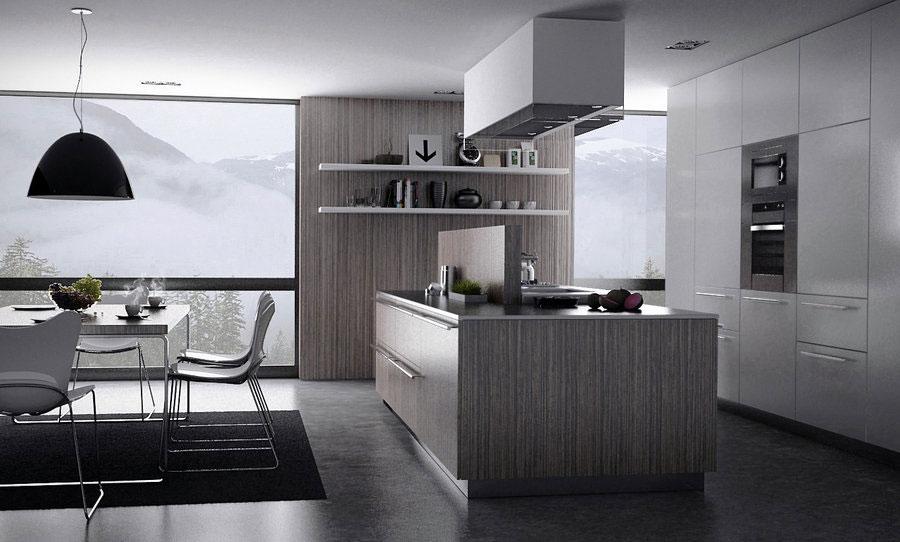 Modern Grey Kitchen Design - Interior Design Ideas