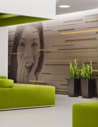 Creative Office Wall Art Design - Interior Design Ideas