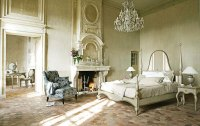 Luxury French Bedroom Furniture with Fireplace Ideas