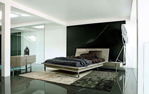 black and white minimalist bedroom ideas Minimalist White Black Bedroom Design - Interior Design Ideas