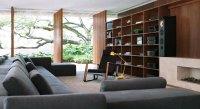Modern Interiors Living Room With Bookshelves - Interior ...