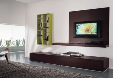 Living Room Design Ideas Tv On Wall