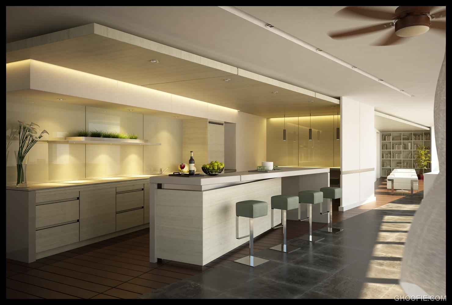 Stunning Contemporary Home Bar Indoor Plants Modern