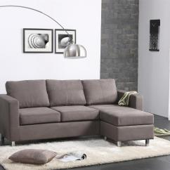 Small Grey Sofa Next Karlstad Three Seat Bed Dimensions Fabulous Contemporary Gray Color Sectional