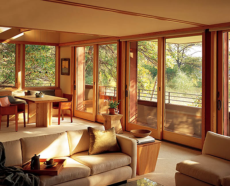 Contemporary and class window treatments