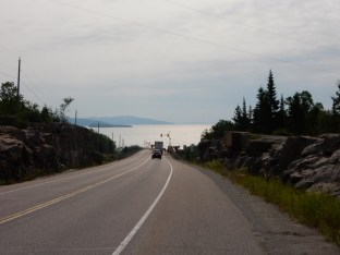 The north shore of Lake Superior, near Rossport, ON.