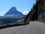 The tunnel on the eastern slope of the Going-to-the-Sun road in Glacier NP.