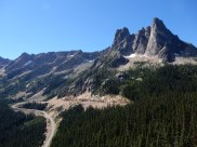 The top of the valley just east of Washington Pass.