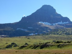 Behind the visitor center in Glacier NP.