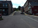 Houghton MI is a bit hilly.