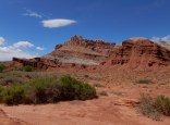 Rock formations at Capitol Reef NP.