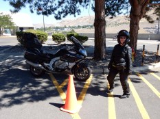 Karen and the Nightowl at Grand Coulee Dam.