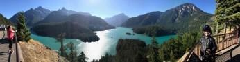 Diablo Lake panorama.