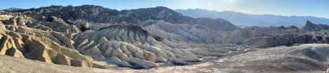 Death Valley panorama from Zabriskie Point.