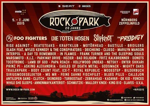 Rock Am Ring and Rock Im Park Lock Down Lineups | Ghost ...