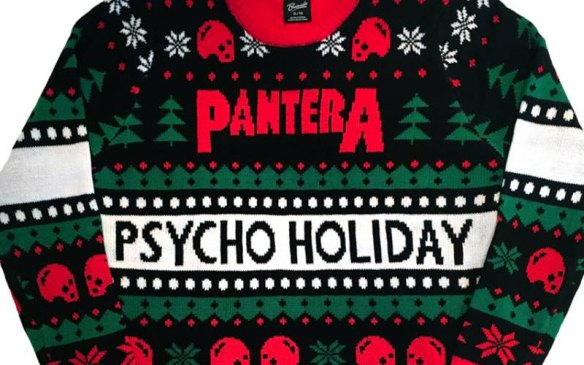 pantera ugly christmass sweater