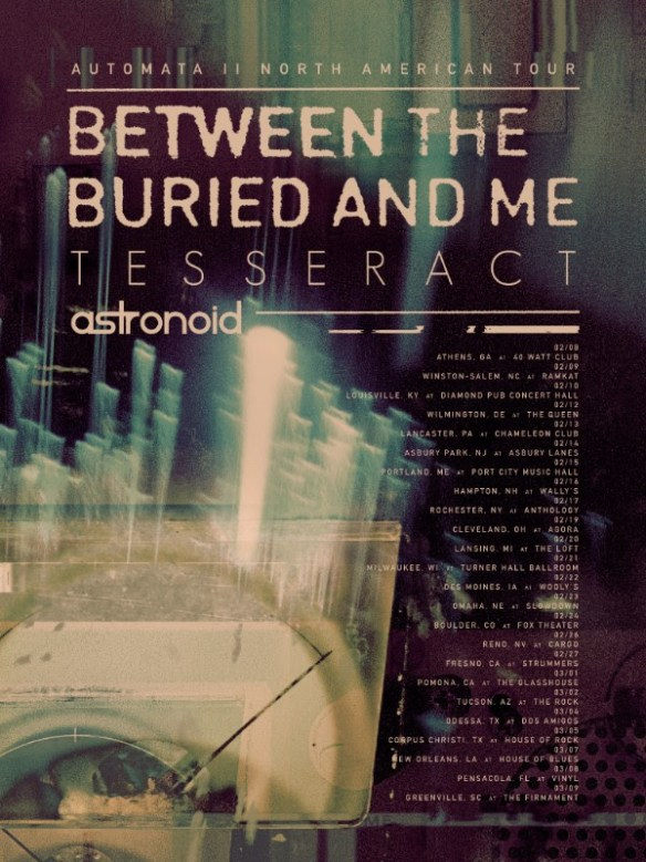Between The Buried And Me Book New North American Tour Dates | Ghost