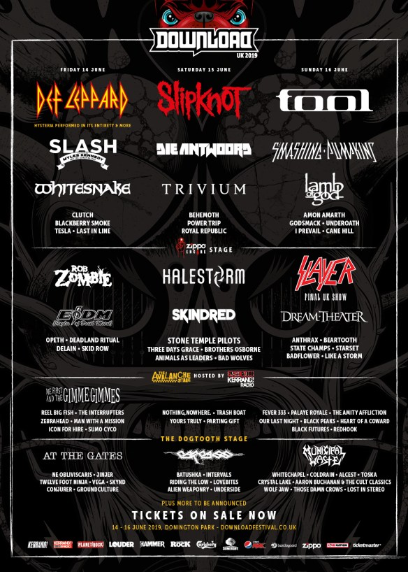 FESTIVAL PREVIEW: Download Festival 2019 | Ghost Cult Magazine