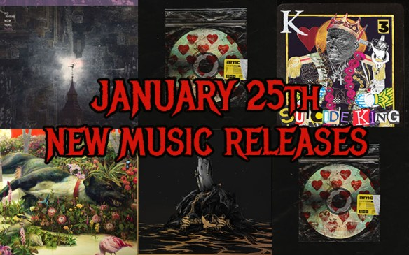 January 25th 2019 New Music Releases  a45f35d18a
