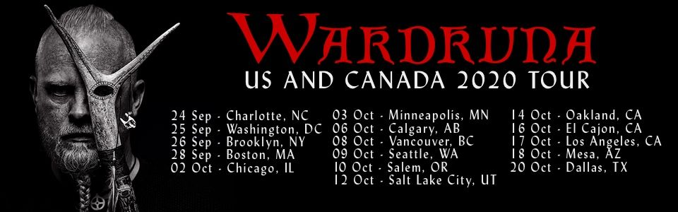 Buy Tickets to See Wardruna in North America