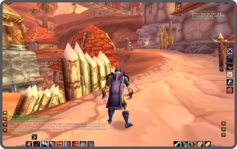 World of Warcraft game play still