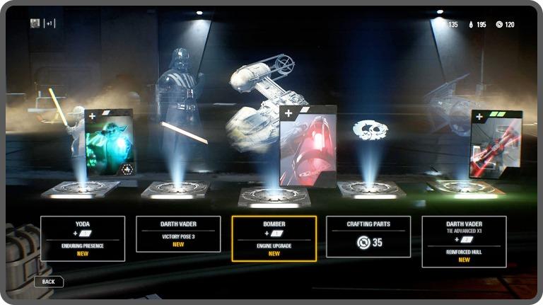 Star Wars Battlefront loot box still