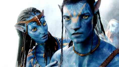 Zoe Saldana & Sam in Avatar