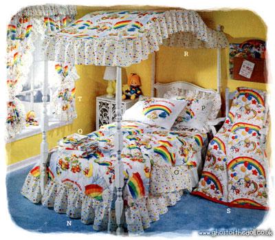 Childrens Character Bedding 1970s1980s  Retro Musings