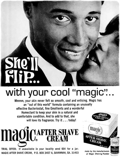 Magic Shaving Powder  Shaving Adverts 19641981  Retro