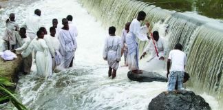 Photos- Pastor ends up drowning when tries to walk on water
