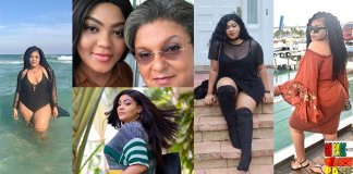 Photos:Meet Carla Tetteh, The Beautiful Daughter Of Hannah Tetteh- She Is A replica Of Her Mum