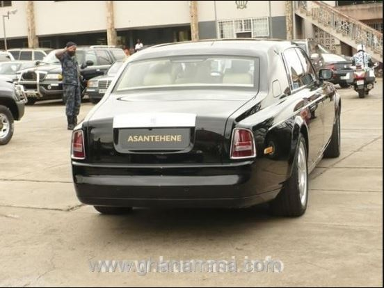 . Asantehene's Garage Is A Tourist Site To Visit