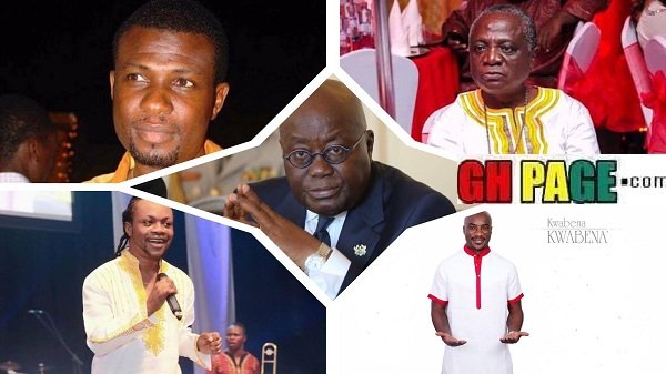 Forget A Plus:Here are 9 other celebs who campaigned for Nana Addo & deserve to enjoy too