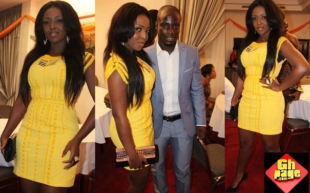 Yvonne Okoro relationship stephen appiah