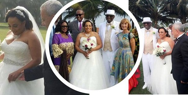 [Photos]Former NDC Minister and Ambassador, Zita Okaikoi remarries in a secret wedding