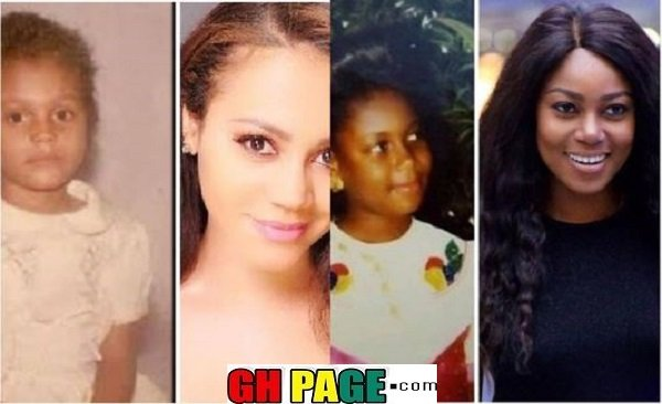 5 Childhood Photos Of Popular Ghanaian Actors And Actresses