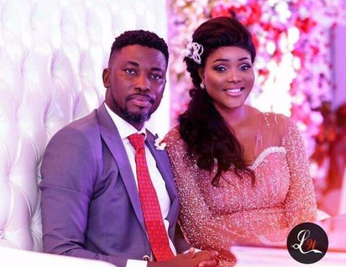 Choose What You Want to Believe;  A-Plus' Wife, Akosua Vee Respond to Bleaching Allegation 1