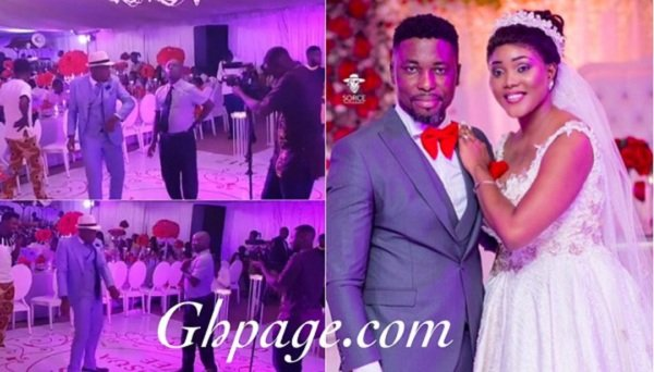 Video: Counselor Lutterodt's Off Beat dance at A Plus Wedding that has got everyone talking