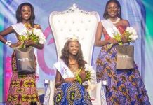 Minister of Interior's daughter Margaret Mwintuur Dery has been crowned Miss Ghana 2017(Photos+Video)