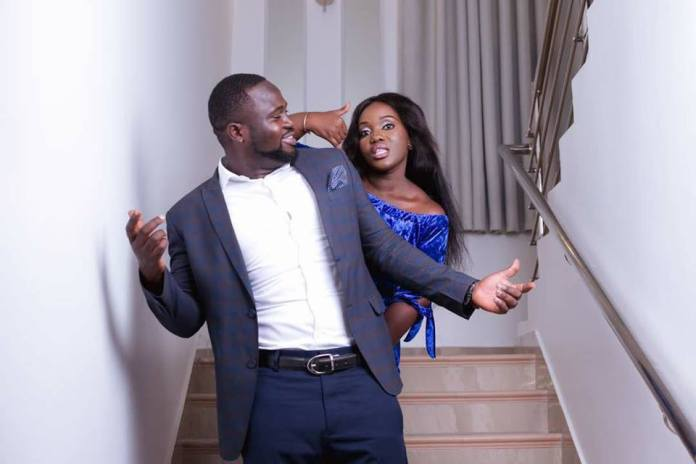 Osei Kwame Despite's Daughter and Her Husband so Loved Up In New Photos